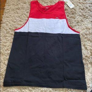 🆕 Levis colorblocked sleeveless tee size Large